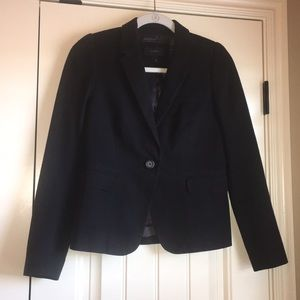 JCREW Black Cotton Blazer